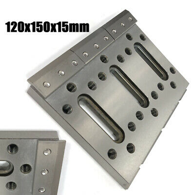 Wire EDM Fixture Board Stainless Steel Jig For Clamping Leveling 120x150x15 mm
