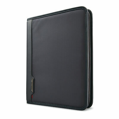 NEW SAMSONITE Xenon Business Zip Portfolio Steel Grey 100% AUTHENTIC SAMSONITE