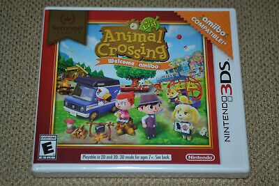 Animal Crossing New Leaf Welcome Amiibo Nintendo Selects 3DS Brand New Fast Ship