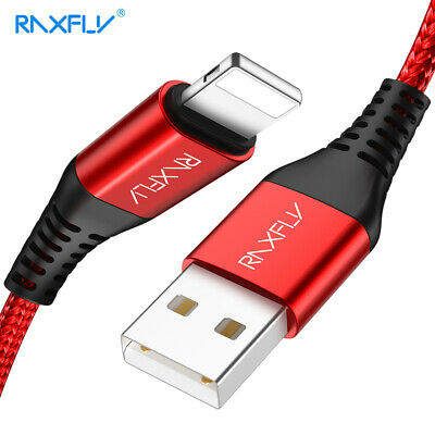 Braided Nylon Lightning USB Data Sync Cable For iPhone Apple Xs Max X 8 7 6 SE