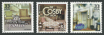 TV Sitcoms All in the Family The Bill Cosby Show Seinfeld Stamps MINT CONDITION!