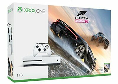 Xbox One S 1TB Ultra HD Blu-Ray Compatibile Giocatore Forza Horizon 3 Set Ver