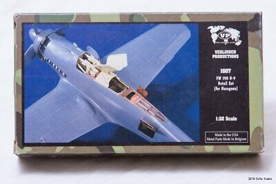 1407 Verlinden 1//48 P-51 Mustang Underwing Stores WWII Resin + Photo-etch kit