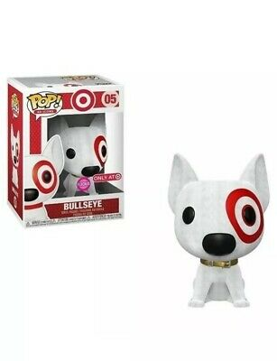 Funko Pop Flocked Bullseye Target Exclusive Ad Icons Vinyl Figure New *Preorder*