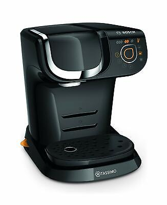 Bosch TAS6004GB Tassimo My Way Black Cappuccino Espresso Pod Machine 1300 Watts