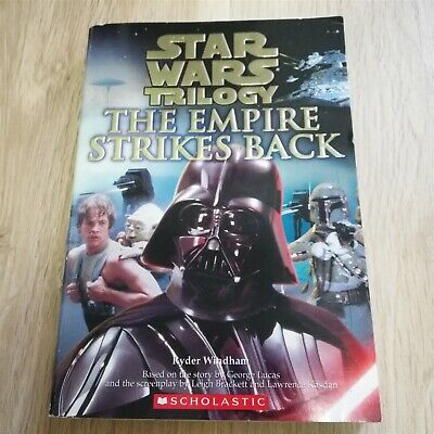 x1 Star Wars Trilogy The Empire Strikes Back Paperback Book Scholastic 2004