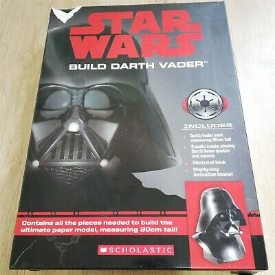 x1 Re-create Star Wars Build Darth Vader Bust 30cm Tall Ultimate Paper Model Kit
