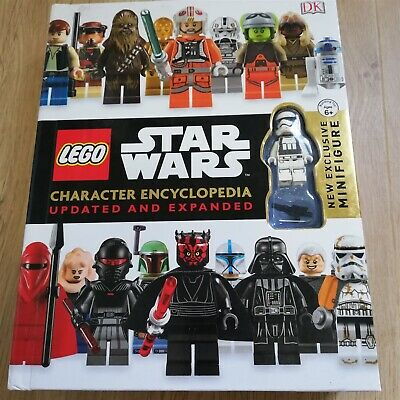 x1 LEGO Star Wars Character Encyclopedia, Updated and Expanded: With Minifigure