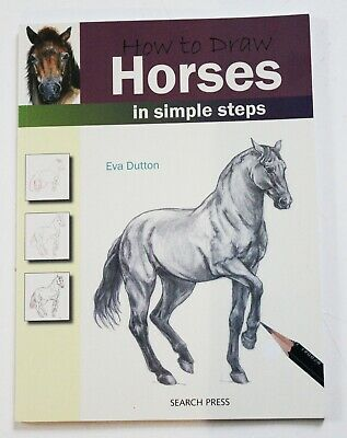 BOOK How to DRAW  HORSES  Eva Dutton  DRAWING Search Press