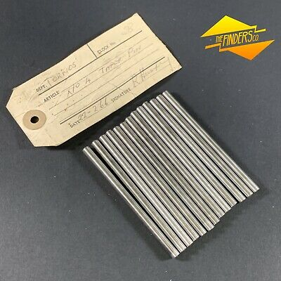 LOT X13 SIZE NO.4 TAPER PINS 5mm - 4.95mm 86mm LONG MECHANICAL ENGINEERING TOOLS