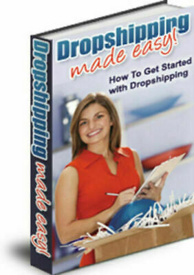 Dropshipping Made Easy Ebook PDF & 5 Bonus Ebooks Resell Rights Free Shipping