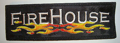 FIREHOUSE- LOGO Embroidered PATCH EUROPE LOVEHATE WILDSIDE POISON VAIN TUFF