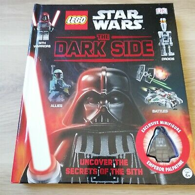 LEGO Star Wars The Dark Side With Minifigure book uncover the secret of the sith