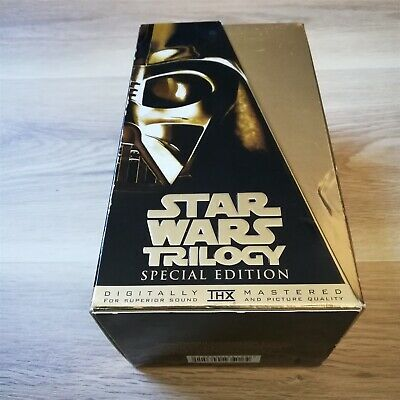 x1 Star Wars Special Edition Trilogy Box Set VHS Empire Strikes Back.