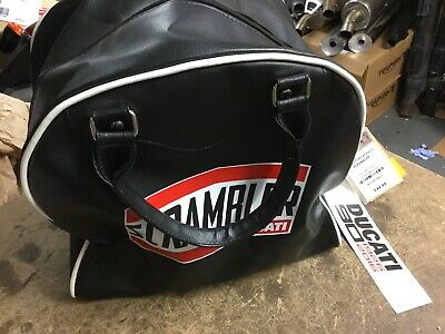 Ducati Scrambler Black Helmet Bag NEW