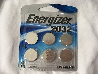 6-Pack Energizer Lithium-ion Coin Cell Electronic Battery 2032 3V 2032BP-6
