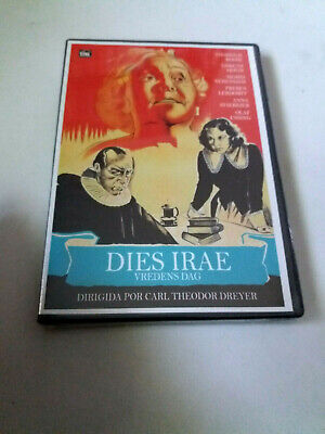 "Dvd ""Dies Irae"" Precintado Sealed Carl Theodor Dreyer"