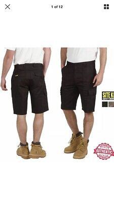 Two Pairs Of Mens Work Shorts By SITE KING