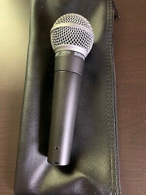 Shure SM58 Handheld Dynamic Vocal Microphone | Tested Functional A55M Included