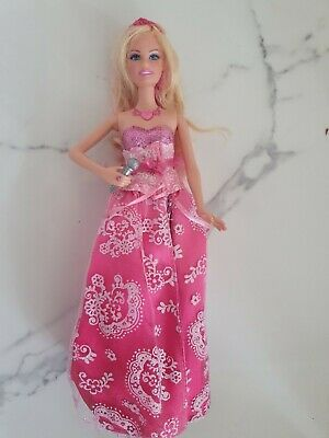 Barbie Singing Princess & the Popstar Tori Doll in  princess popstar outfit-VGC