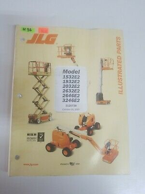 jlg 1932e2 2032e2 2646e2 scissor lift service \u0026 maintenance manualjlg model 1532e2 1932e2 2032e2 2632e2 2646e2 3246e2 illustrated parts manual 56