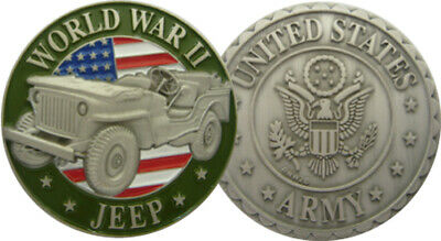 Coins Us Army Jeep 3D