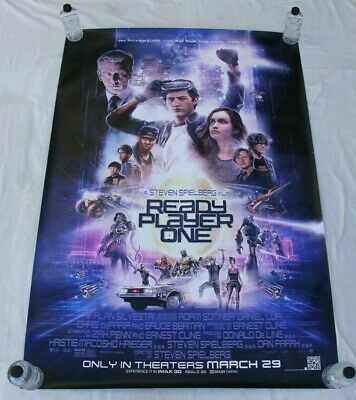 Ready Player One Steven Spielberg BUS SHELTER MOVIE POSTER 4'x6'