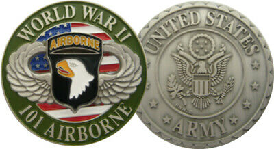 Coins Us Army Paratrooper 3D