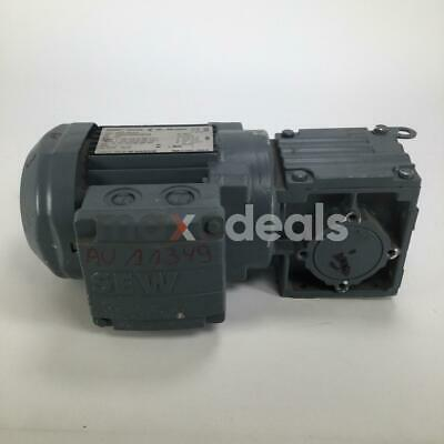 SEW Eurodrive W20DR63S4 Gear Motor Getriebemotor 3Ph 50/60Hz New NMP