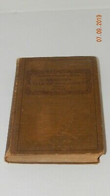 A Tale of Two Cities Book Charles Dickens 1911 FLAWED- see details