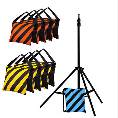 4 pcs Photographic Empty Sand Bag for Studio System Light Stand boom arm balance