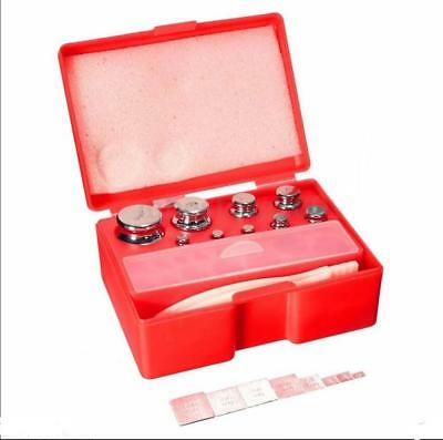 17Pcs 211.1g 10mg-100g Set Grams Precision Calibration Weight Digital Scale