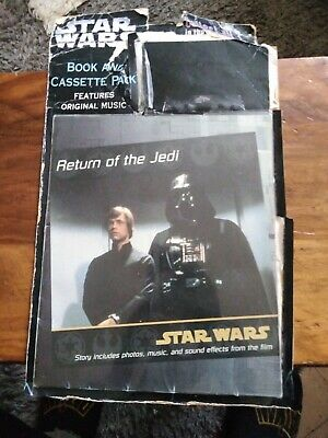 Starwars Book And Cassette Pack