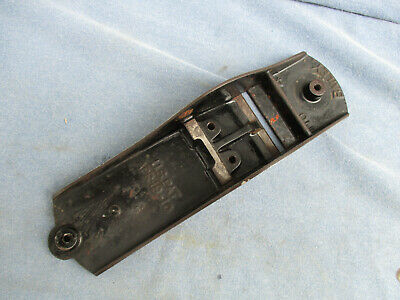 1910 Stanley Bailey No 4 Base Bottom US PAT APR 19 10 Used Plane Part Vintage