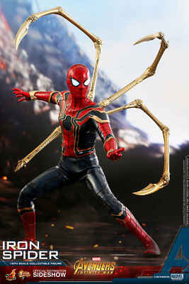 HOT TOYS Iron Spider Avengers Infinity War 1/6 Scale Figure MINT NEW IN BOX!!!
