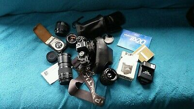 Praktica Bx20 With Lots Of Extras.