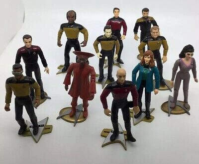Star Trek The Next Generation 11 Figures With Stands
