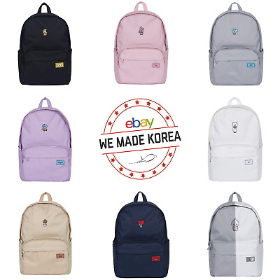 BTS BT21 X SPAO Character Candy Backpack School Bag 8types Authentic K-POP Goods