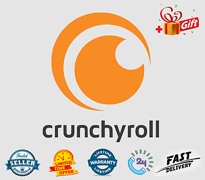 🔥 Crunchyrol Premium Lifetime Subscription Account +Free Gift  🚀 FAST Delivery