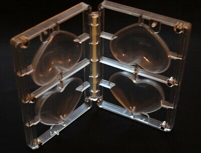 Polycarbonate Chocolate Mould (Hearts) Ideal for 3D figures