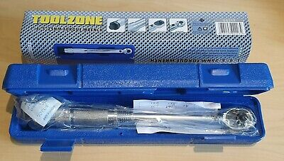 "TORQUE WRENCH 1/4"" 5Nm-25Nm - Genuine Toolzone SS217 - *MULTI BUY*"