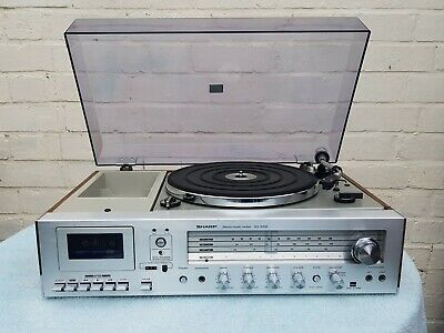 Vintage 1970s SHARP SG-220E STEREO MUSIC CENTER/Record Player