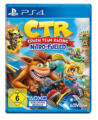 Crash Team Racing Nitro-Fueled - (PlayStation 4, PS4) -  wie NEU !
