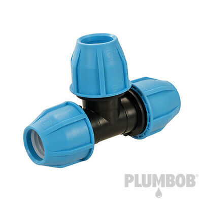 MDPE Plastic Compression Fitting 20 25 32mm O/D Water Pipe PROMOTION