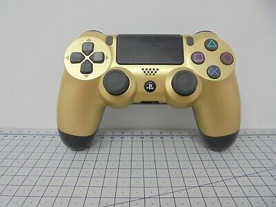 Official Sony Playstation 4 Dual Shock PS4 Controller - Black and Gold - PS4GDB