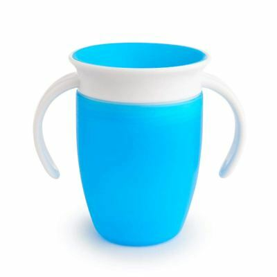 Munchkin MIRACLE 360 TRAINER CUP 207ML BLUE Baby Feeding BNIP