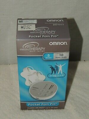 Omron Pocket Pain Pro TENS Unit Box New Unopened