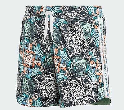 Girls Adidas Originals Zoo shorts summer tropical Ages 11-14  NEW IN STOCK SALE