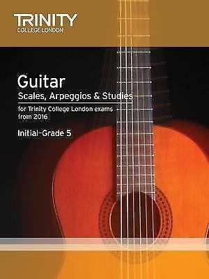 Guitar & Plectrum Guitar Scales & Exercises Initial-Grade 5 from 2016 by...
