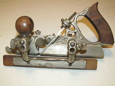 Antique Early Stanley No. 45 Combination Plane Tool Woodworking